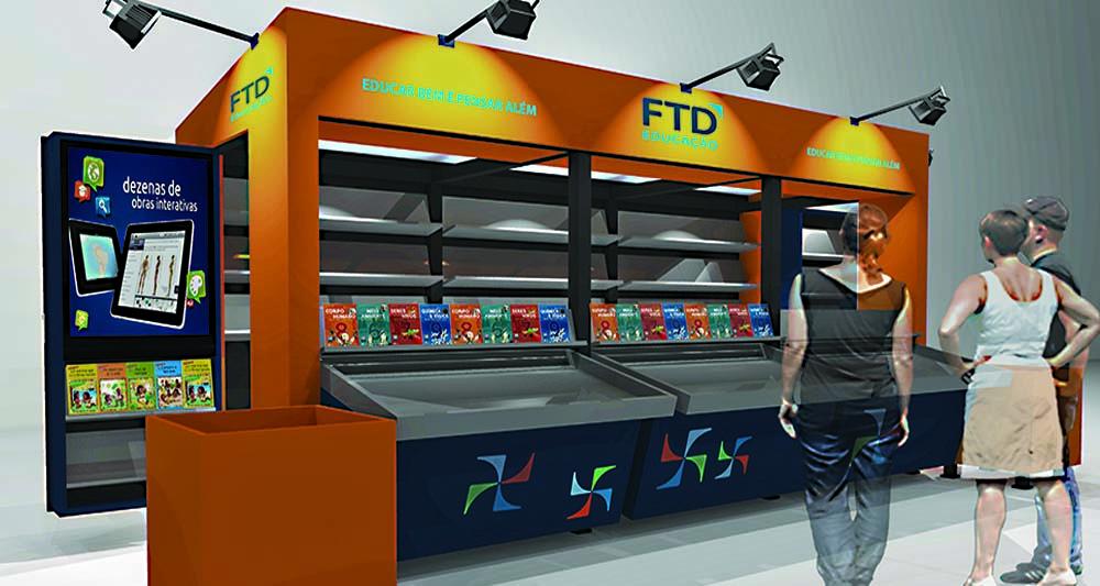 Estande FTD Multiuso